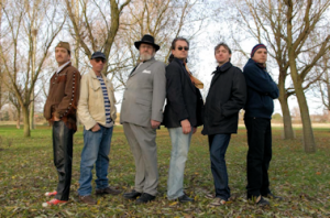 Thunderclap Newman Band Outdoors (courtesy of Patrick Llewelyn-Davies)