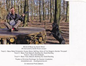 Istvan Etiam Hungarian Singer Songwriter Blues Pop Faith EP CD Cover Back