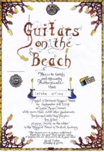 Guitars On The Beach Award 2014